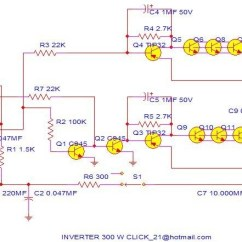 2000w Power Amplifier Circuit Diagram Lighting Wire 300w Inverter - And Products