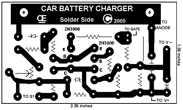 Battery Charger Using SCR - Instructables
