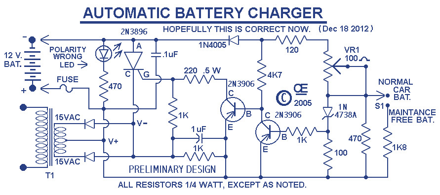Image Scr Battery Charger Circuit Diagram Download Wiring Diagram Page