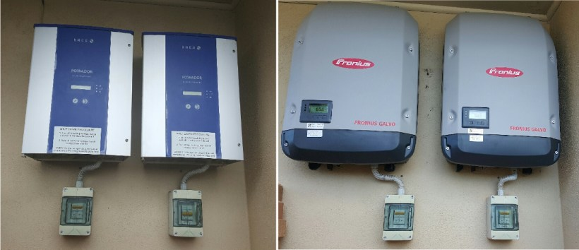 Kaco Replaced By Fronius Galvo