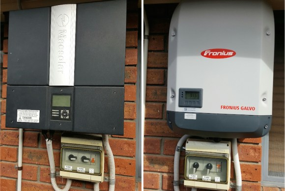 Macsolar Replaced By Fronius Galvo