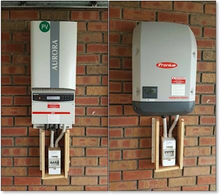 Fronius Primo Replaces Abb Aurora Power One Inverter