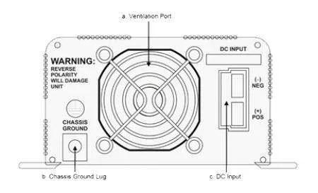 Go Power GP-SW300-24 300 Watt 24V Pure Sine Wave Inverter