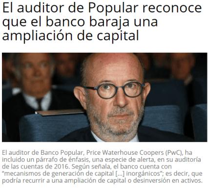 POPULAR-AK% - ¿Ande irá a parar el Popular si su capital va a ampliar?