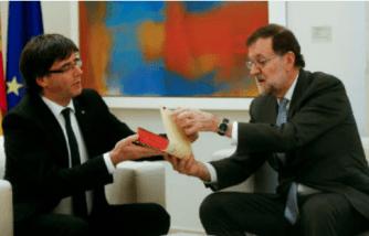 puigdemont-rajoy% - La cuestión catalana se le va de la mano a la Generalitat y a la Moncloa