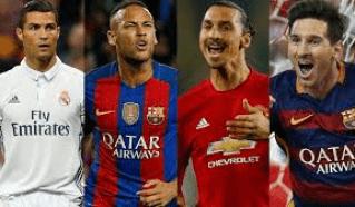 FUTBOLISTAS% - Los jugadores y entrenadores de fútbol mejor pagados