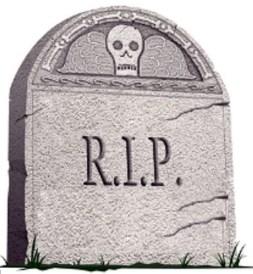 muerte% - Los estertores de muerte de la prensa escrita