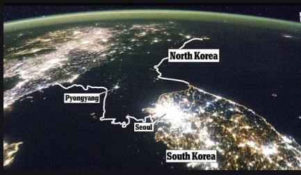 corea-del-norte-sin-luz% - El Presidente norcoreano no es más tonto porque no se entrena