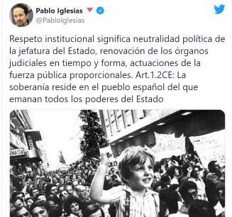 iglesias-twitter-contra-rey% - ¿Respeto institucional, neutralidad política?