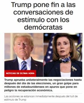 trump-la-lia% - Trump la lió