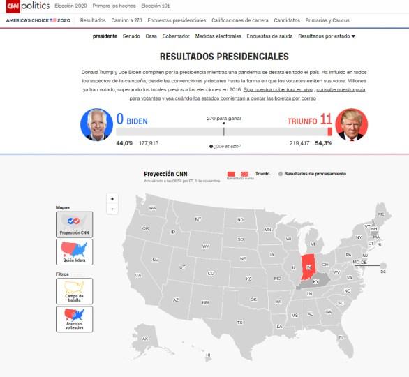 NE5% - Noche de elecciones con invertiryespecular.com