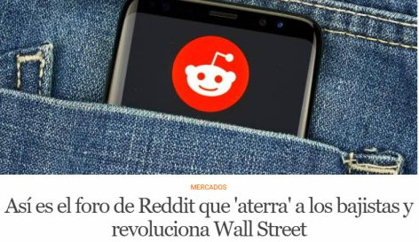 reddit% - La movida de gamestop llega hasta España