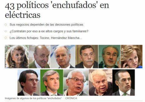 43-politicos-enchudados% - ¿Y si a Iberdrola y Endesa le sucede lo mismo que a las eléctricas alemanas?