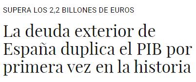 kuko-la-deuda-exterior-duplica-el-PIB% - Pues nada, ya es oficial...