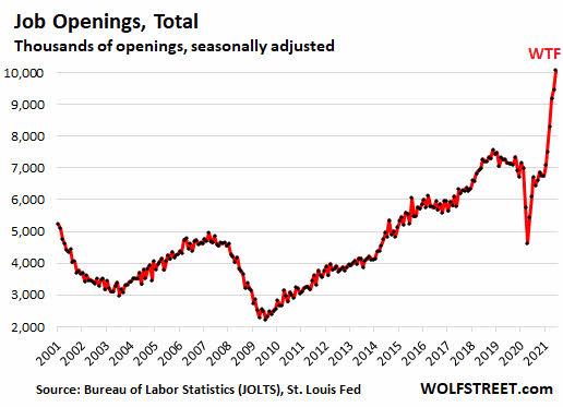 oferta-de-trabajo% - La oferta de puestos de trabajo a niveles máximos