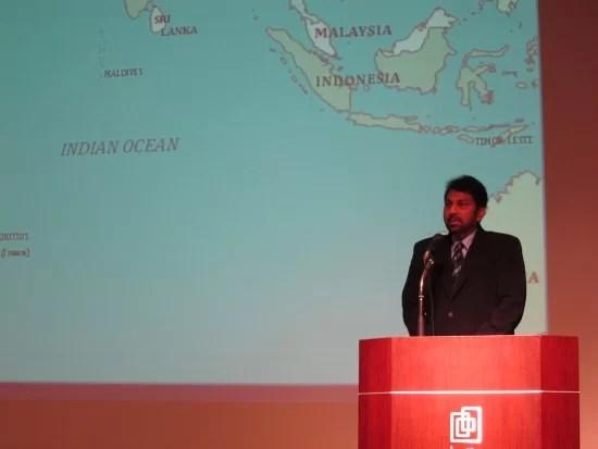 駐日スリランカ大使のワサンタ・カランナゴダ
