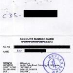 スリランカ株取引用の証券口座と銀行口座の開設が完了