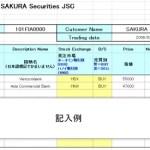 桜証券(現JSI)に送金、そして注文方法のお知らせ