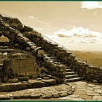 Whiteface 9: First Steps Towards the Top and Castle (sepia)