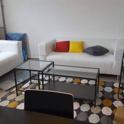 Salon dans colocation de 4 personnes à Toulouse