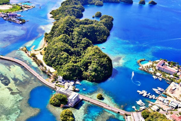 Palau spur cable will be the first project under the Trilateral Infrastructure Project between the United States, Japan and Australia, which the allies formalized in November 2018.