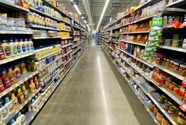 Physical grocery stores—the essential brick-and-mortar retail segment that has shown resilience during the covid pandemic—might evolve in the post-covid real estate economy.