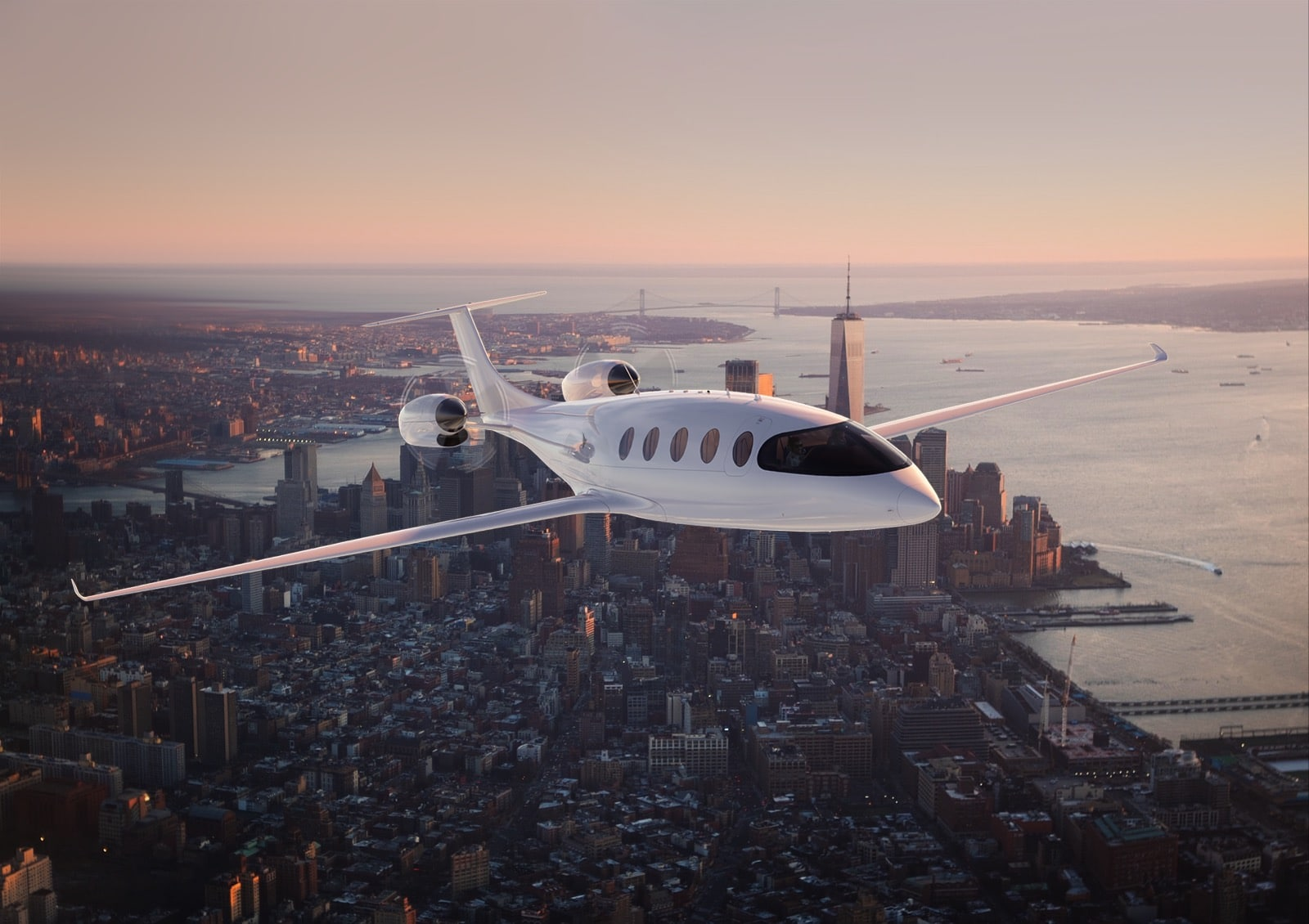 Clermont-owned Eviation in partnership with Clay Lacy Aviation