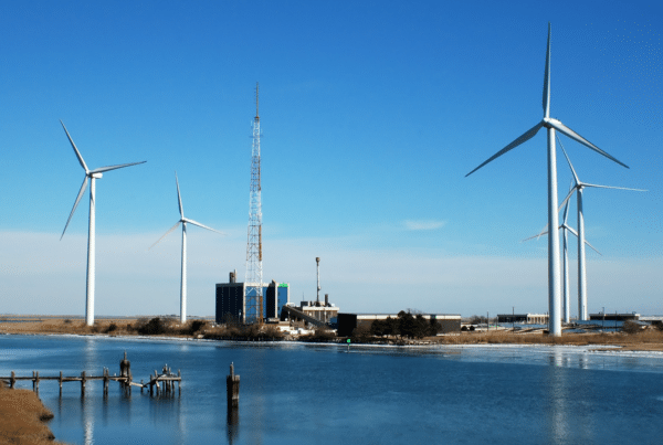 New Jersey subsidiary of LS Power group will build a renewable energy hub, Outerbridge, on the site of South Amboy coal plant.