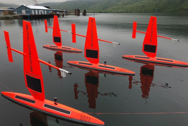 Saildrone, maker of oceangoing, renewables-powered unmanned surface vehicles (USVs) for maritime intel gathering, gets Series C funds.