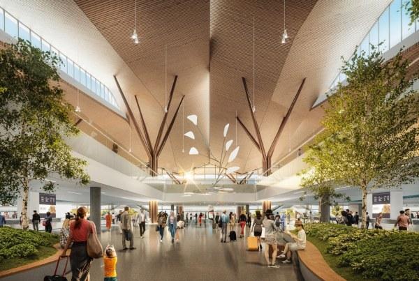 Construction begins on Pittsburgh International Airport, sustainable infrastructure and the world's first port built ground up post-covid.