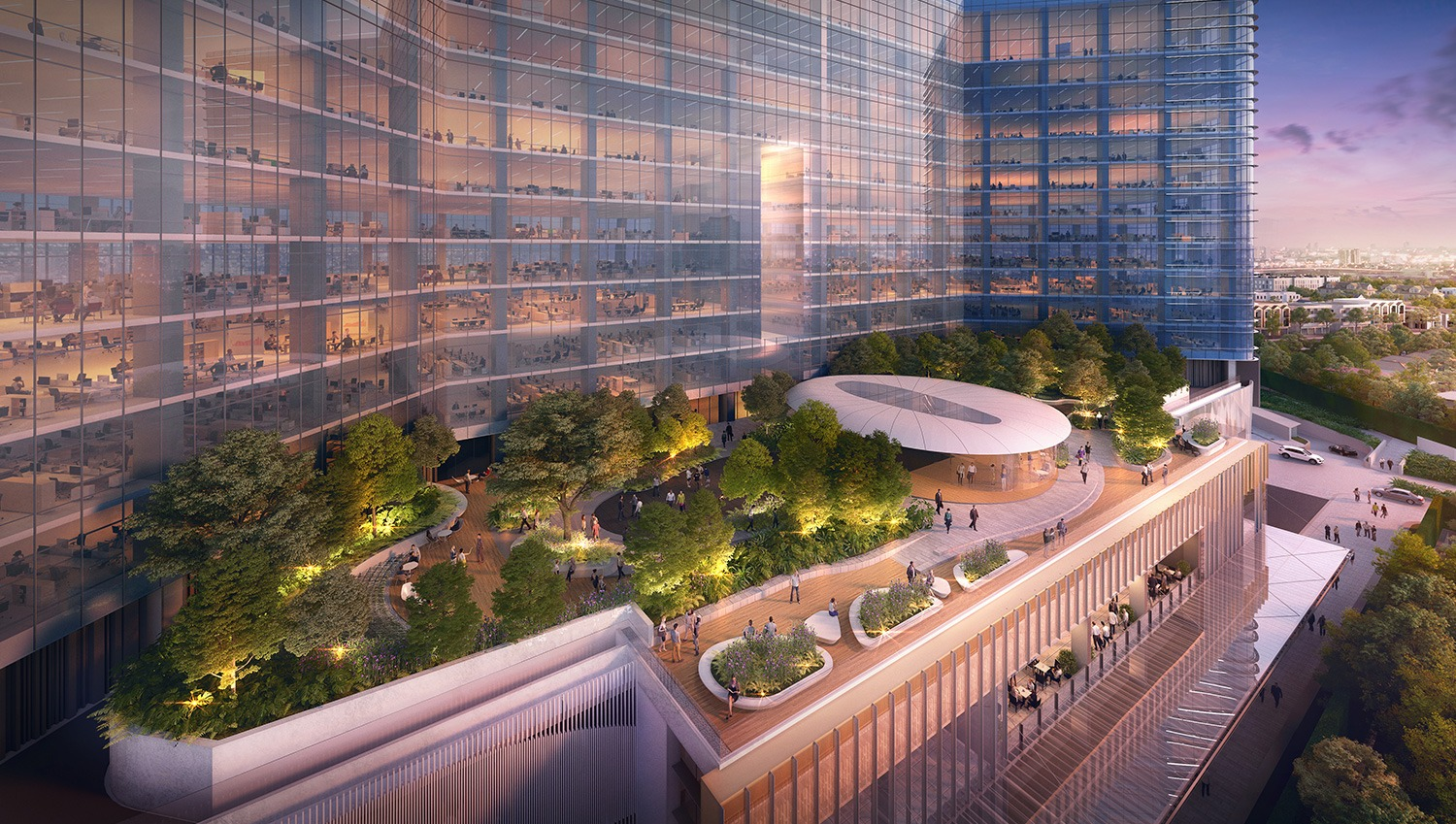 TCC says The Parq to punch up Mice hub  InvestBangkokPropertycom