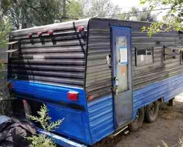 abandoned camper