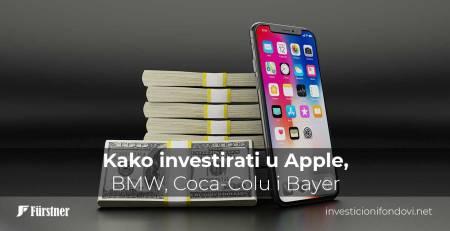 Kako investirati u Apple, BMW, Coca-Colu i Bayer | Investicioni fondovi