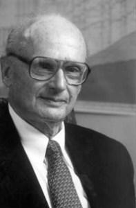 Harry Markowitz, criador da Teoria Moderna do Portfolio.