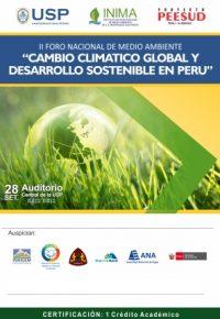 II Foro Nacional de Medio Ambiente 2018
