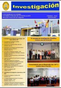 Informativo Investigacion Chimbote Abril 2015
