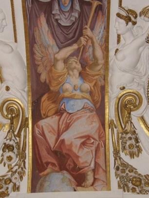 Cincinnato: Detalles de la bóveda de la Sala de don Zuria del Palacio del Infantado. 1578-1580.