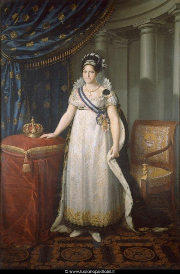 Carlos Espinosa- María Luisa de Parma.