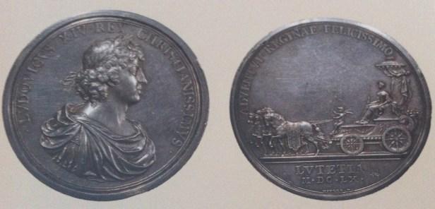 Jean Mauger: Entrada de María Teresa de austra en París, 1660.