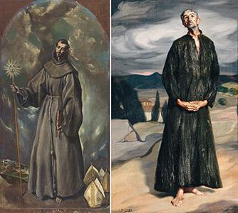 San Bernardino de Siena / Ignacio de Zuloaga- El anacoreta