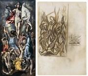 La Resurrección de Cristo / Jackson Pollock- Sin título