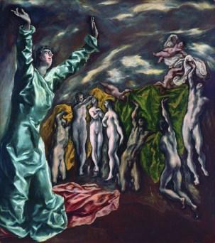 El Greco- La visión de San Juan
