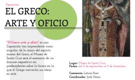 El Greco: Arte y oficio