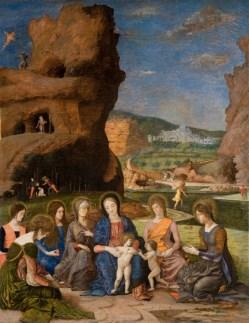 Mantegna: Sacra Conversacione.