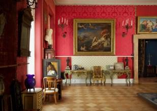 Sala dedicada a la pintura renacentista italiana del Isabella Stewart Gardner Museum.