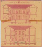 Secciones del Palacio del Viso del Marqués.