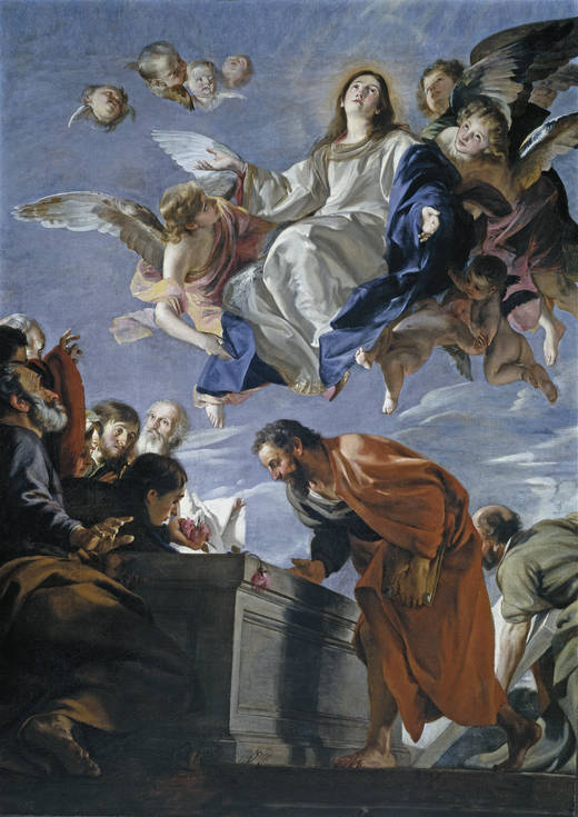 Juan Martín de Cabezalero: Asunción de la Virgen. Madrid, Museo Nacional del Prado.