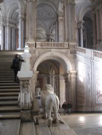 Escalera de la Reggia di Caserta