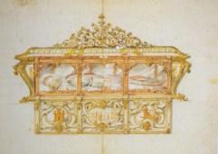 Juan José Carpio: Diseño de urna para San Fernando. Cat. Sevilla