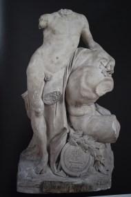 Roberto Michel: El genio de la Escultura. 1759. RABASF.